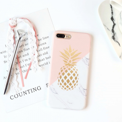 Phone case Popular Marbling Fruits ..