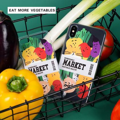 iPhone Case Cute Vegetable Clean Fo..