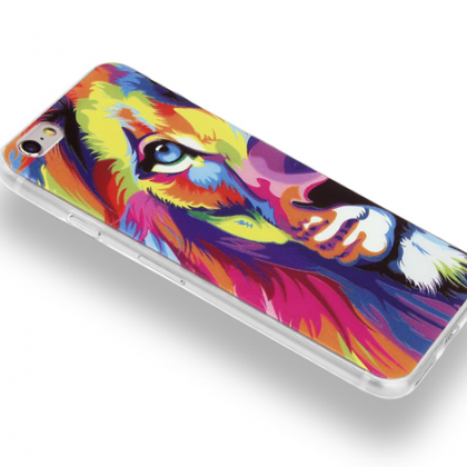 Phone case Colorful Tiger cool awes..