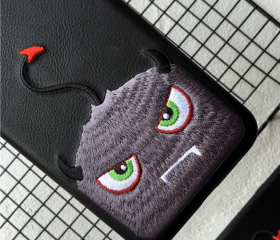 Phone case embroider..
