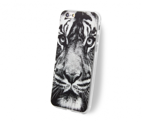 Phone case Black Tig..