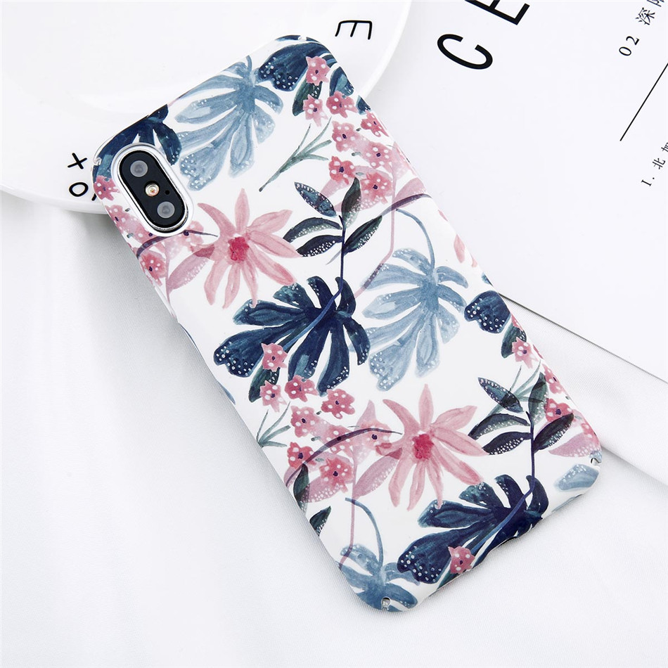 Phone Case Popular Plant Flower Ins Tumblr Iphone 6 6s 6plus 6s