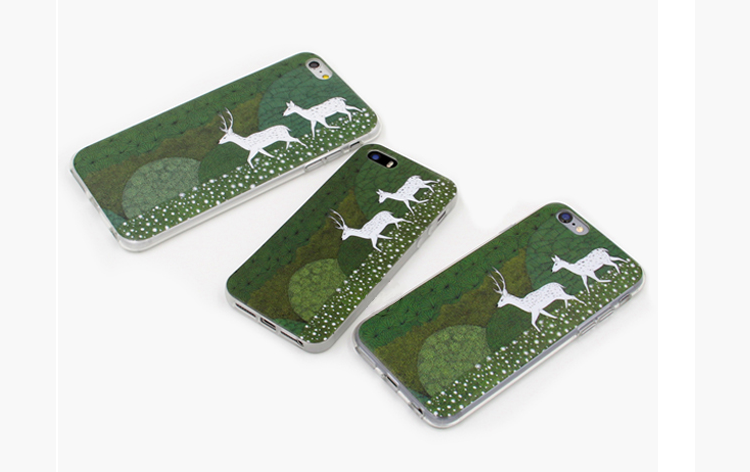 Phone cases deer decorations illustrations forest the fairy tale awesome for teens iphone5,5s,6,6s,6plus,6splus cases covers accessories smart phone cases phone skins