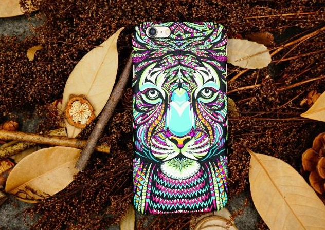 Phone cases Gorgeous Tiger awesome Animal for teens iphone5/5s/6/6s/6plus/6splus cases covers accessories smart phone cases phone skins