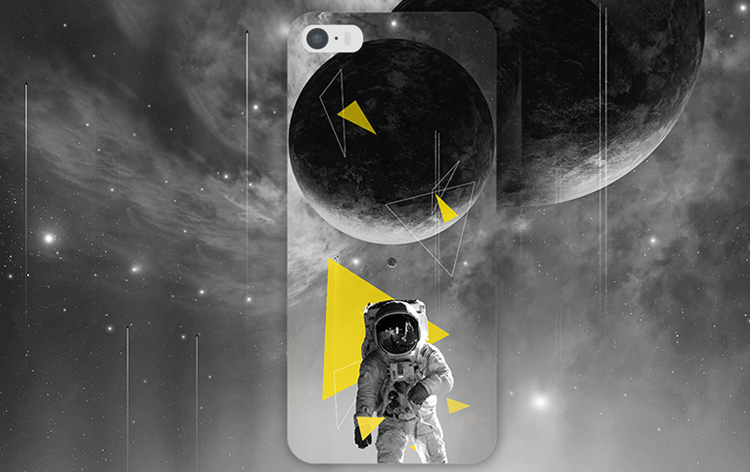 Black Astronaut Space Geometric cool Fashion simple stylish ideas phone case iphone5,5s,iphone6,6s,iphone6plus,6splus cases covers accessories smart phone cases phone skins