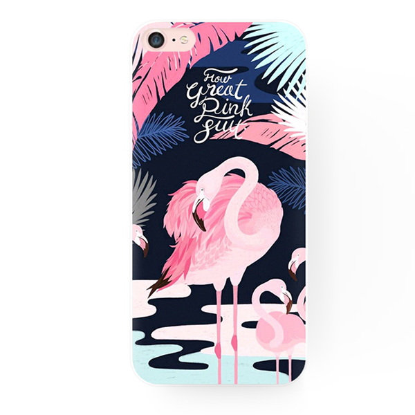 the latest a7742 f3a7e Pink Flamingo IPhone Case