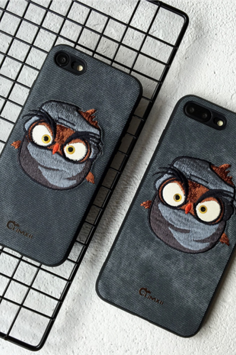 Phone case embroidery Funny devil, for teens awesome cool iphone 6,6s,6plus,6s plus,7,7plus cases covers accessories smartphone cases phone skins