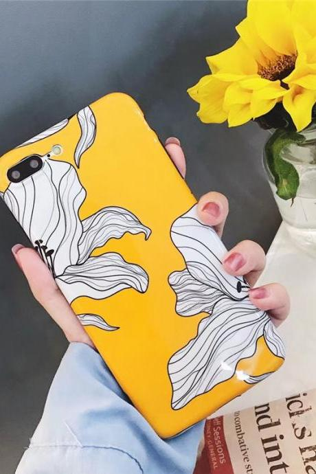 Phone Case For girls Floral Tumblr Protective iPhone 6,6s,6plus,6s plus,7,7plus,8,8plus, iPhoneX cases