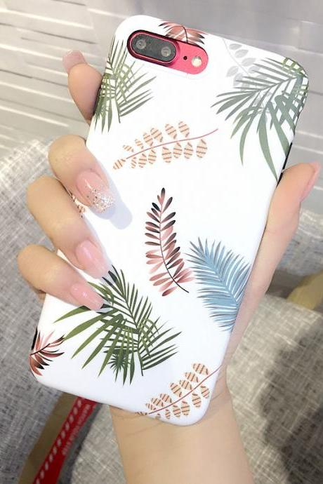 Phone case Popular Plant Flower ins Tumblr iPhone 6,6s,6plus,6s plus,7,7plus,8,8plus, iPhoneXcases