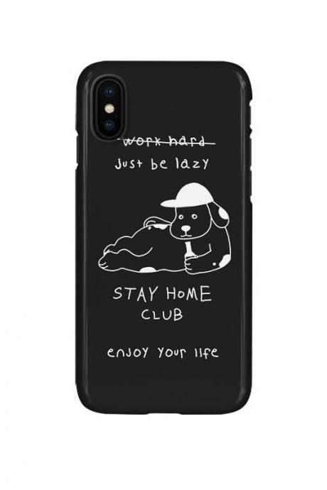 Phone case cute LAife dog Animal Tumblr iphone7,7plus,8,8plus,X,XMax,cases covers accessories smartphone cases phone skins