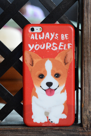 Phone case for girls red pet puppy Samoyed animal cute iphone6/6s/6plus/6splus/7/7plus,cases covers accessories smart phone cases phone skins
