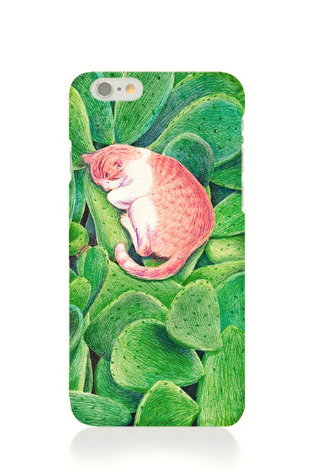 Phone case cat cute sleep cute awesome Animal iphone5/5s/6/6s/6plus/6spluscases covers accessories smart phone cases phone skins