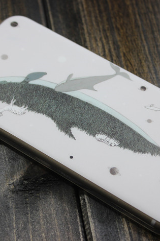 Phone cases Whale and white deer awesome for girls iphone5,5s,6,6s,6plus,6splus cases covers accessories smart phone cases phone skins