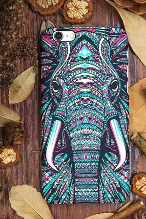 Phone cases Elephant awesome Animal for teens iphone5/5s/6/6s/6plus/6splus cases covers accessories smart phone cases phone skins