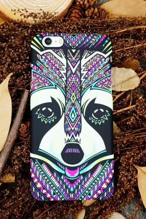 Phone cases racoon awesome Animal for teens iphone5,iphone5s,iphone6,iphone6s,iphone6plus,iphone6splus cases covers accessories smart phone cases phone skins