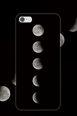 Black Night moon sky simple stylish ideas phone case iphone5,5s,iphone6,6s,iphone6plus,6splus cases covers accessories smart phone cases phone skins