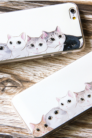 Phone case Black cat cute funny awesome Animal iphone5/5s/6/6s/6plus/6spluscases covers accessories smart phone cases phone skins