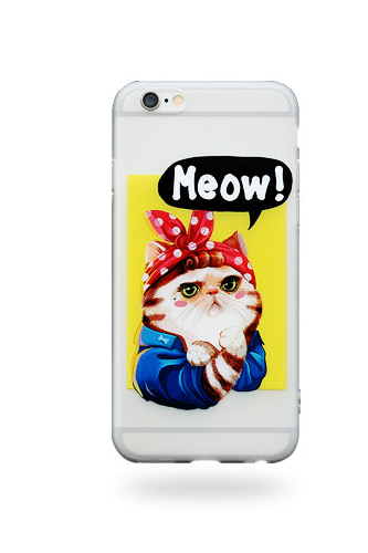Phone case cute cat Animal awesome cool couple iphone 6,6s,6plus,6s plus,7,7plus cases covers accessories smartphone cases phone skins