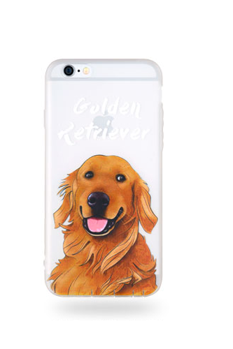 Phone case cute Golden Retriever dog Animal awesome cool couple iphone 6,6s,6plus,6s plus,7,7plus cases covers accessories smartphone cases phone skins