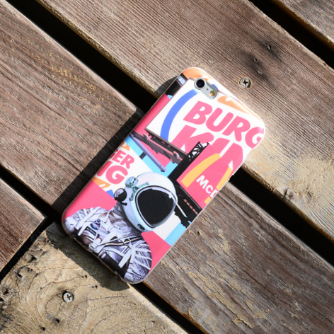 Phone case For teens retro astronaut coll iphone6/6s/6s Plus/7/7Plus/8/8Plus/X cases covers accessories smart phone cases phone skins