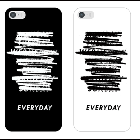 White Fringe couple letter simple stylish ideas phone case iphone5,5s,iphone6,6s,iphone6plus,6splus cases covers accessories smart phone cases phone skins